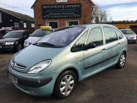 Citroen XSARA PICASSO 1.8 Petrol 2002 with Low Mileage and Long MOT
