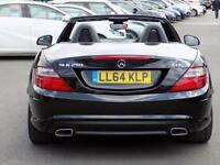 MERCEDES-BENZ SLK 2.1 SLK250 CDI BLUEEFFICIENCY AMG SPORT 2dr AUTO 2 (black) 2014