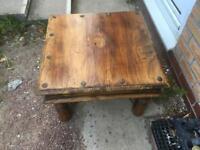 Sheesham pine coffee table