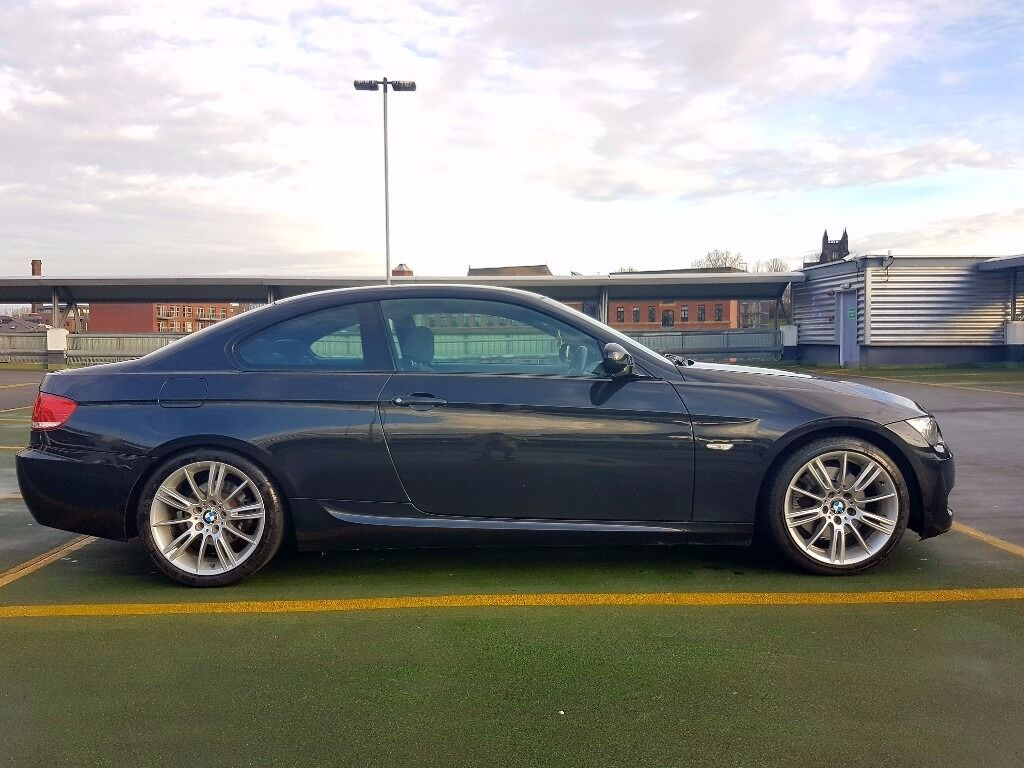 bmw 3 series coupe 2006 2010 e92 3 0 325i m sport 2dr 4 x brand new tyres 12 month mot. Black Bedroom Furniture Sets. Home Design Ideas