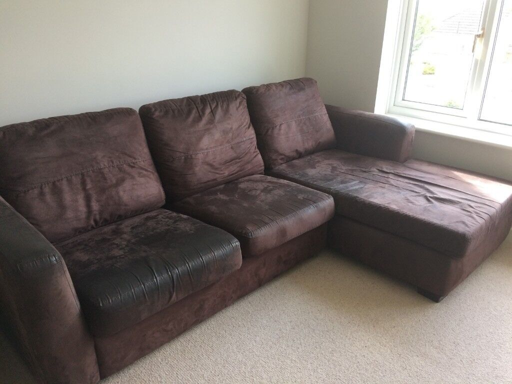 Large Corner Sofa With Pull Out Double Bed