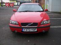 Volvo S60 2.0T - turbo, petrol - LOW MILEAGE!!!! long MOT