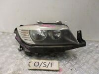 2009 BMW E90 LCI HEADLIGHT & BRACKET DRIVER SIDE RIGHT 89318941 #8805