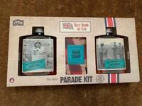 Vintage army style M&S toiletries gift set