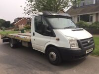 Ford Transit 2011 350 LWB 2.4 Recovery Truck 3.5 Tonne **NEW MOT**
