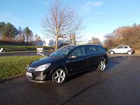 VAUXHALL ASTRA 1.7 CDTI DIESEL SRI ESTATE BLACK NEW SHAPE 2008 BARGAIN ONLY £1450 *LOOK* PX/DELIVERY