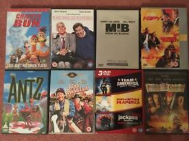 Selection on popular DVDs