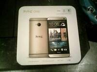 For sale Htc M7 Gold