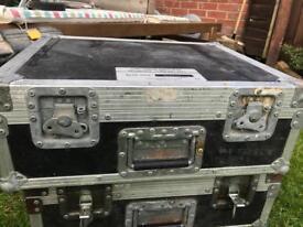 Metal frame tool/dj box