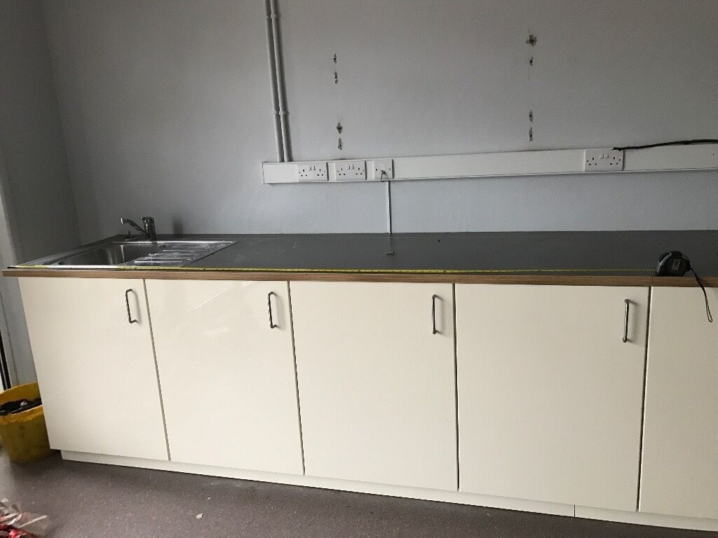 Brand new kitchen cupboards
