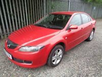 MAZDA 6 S RED 2007 5 DOOR HATCHBACK 62,000 MILES MOT TILL 1/02/19 NO ADVISORIES EXCELLENT CONDITION