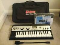 KORG MicroKorg XL Synth with Gator case