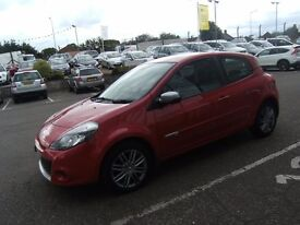 2012 62 RENAULT CLIO 1.1 DYNAMIQUE TOMTOM 16V 3D 75 BHP **** GUARANTEED FINANCE ****
