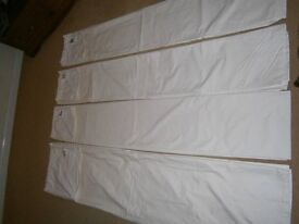Thermal Curtain Linings (4 available) *Open to offers*