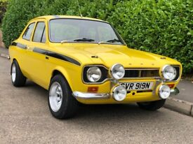 1974 Ford Escort MK 1 RS Mexico 2.0 BDA 911 Cosworth M3