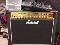 Marshall JCM 2000 TSL601 60w 3 Channel Combo Amp with Footswitch