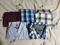 Men's Jeans and Shirts (Large and Medium)