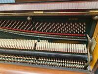 Green Frame Broadwood Upright Piano