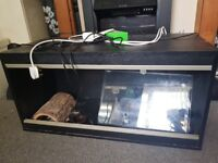 4ft viv with accessories