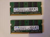 SAMSUNG RAM DDR4 2x8GB