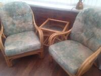 Conservatory chair set