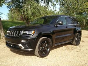 2016 Jeep Grand Cherokee OVERLAND, NAVIGATION, SHIFT PADDELS, HE