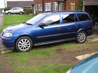 Vauxhall Astra Estate Van Turbo Diesel