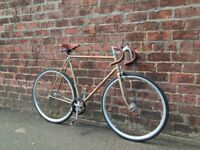 1983 Peugeot Pure Gold - rare vintage road bike (fixed gear)