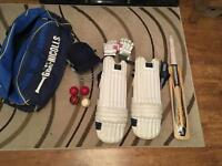 Full cricket set Youth RH, very good condition