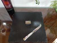 Beautiful slate cheese board