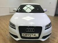 AUDI A3 2.0 SPORTBACK TDI S LINE SPECIAL EDITION 5d 138 BH (white) 2009