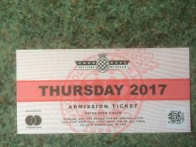 Goodwood festival of speed ticket