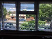 Dunelm white wooden blinds