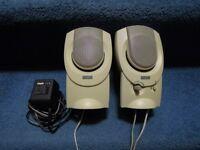 Altec Lansing AVS 200 Speakers + Altec Lansing Transformer