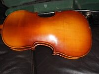 Skylark Violin, Full sized with bow and case