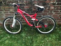 Specialised FSR XC Expert Mountain Bike, Red
