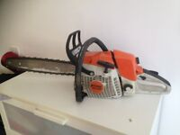 sthil ms280 petrol chainsaw and sthilms145 petrol hedge trimmer