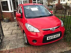Hyundai i10. One owner from new. 11 months MOT. *only £30 Tax*