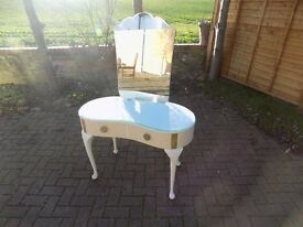 Dressing table - vintage and hand painted