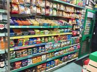 GROCERY OFF LICENSE SHOP COMPLETE FIXTURES AND FITTINGS FOR SALE