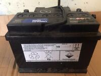Used Round post Ford Fit UNIPART Battery