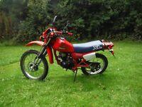 Honda XL125r classic trail bike XL 125 with mot