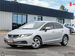 2014 Honda Civic LX,LOW KMS,NEW TIRES,B.TOOTH,HEATED SEATS