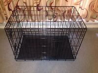 2 door dog training cage / Crate / Cat Cage / Pet Cage / Animal cage