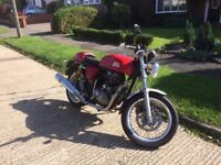 Royal Enfield Continental GT 535 cc