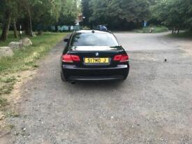 BMW 3 SERIES 320D M SPORT 2008 BLACK