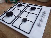 Gas hob natrual or can be used on calor 3month old kitchen refit forces sale