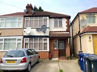 1ST FLOOR 1 BED MAISONETTE INCLUDES GAS AND ELECTRIC FURNISHED 20 MINS WALK TO SUDBURY HILL STATION