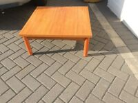 STURDY COFFEE TABLE MADE BY SCHREIBER