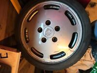 """16"""" Porsche wheels with 4x100 to 5x150 adapters"""